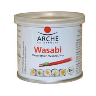 Arche Wasabi Meerrettich Würzpulver, 25 gr Dose