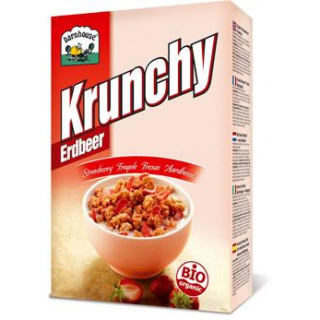 Barnhouse Krunchy Erdbeer, 375 gr Packung