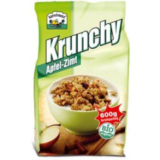 Barnhouse Krunchy Apfel Zimt, 600 gr Packung