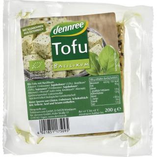 dennree Tofu Kräuter, 200 gr Stück