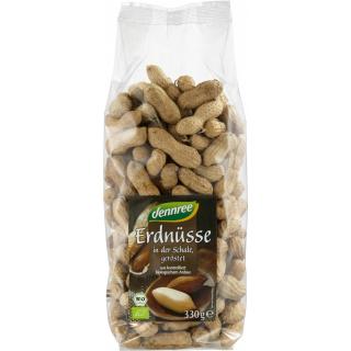 dennree Erdnüsse in der Schale, geröstet, Ägypten,