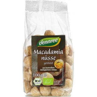 dennree Macadamianüsse mit Honig, geröstet, Austra