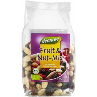 dennree Fruit & Nut-Mix, 175 gr Packung