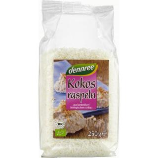 dennree Kokosraspeln, Philippinen, 250 gr Packung