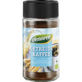 dennree Getreidekaffee, 100 gr Glas