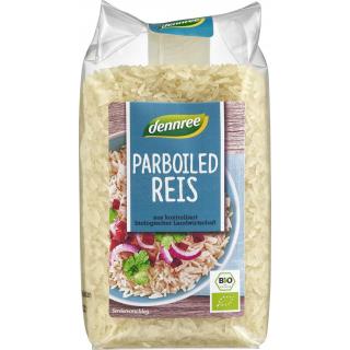 dennree Parboiled Reis,  Italien, 500 gr Packung