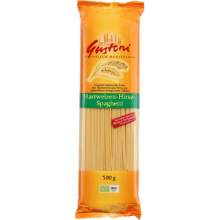 Gustoni Hirse-Spaghetti, bronze, 500 gr Packung -