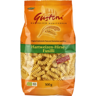 Gustoni Hirse-Fusilli, bronze, 500 gr Packung - he