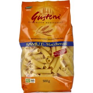 Gustoni Kamut-Maccheroni, bronze, 500 gr Packung -