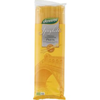 dennree Mais-Reis-Spaghetti, 500 gr Packung -glute
