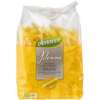 dennree Mais-Reis-Penne, 500 gr Packung -glutenfre