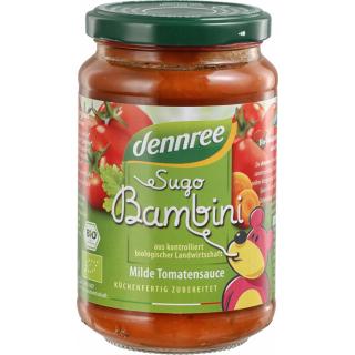 dennree Sugo Bambini, Kinder Tomatensauce, 350 gr