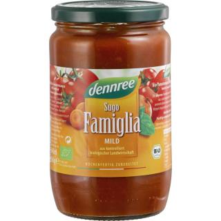 dennree Sugo Famiglia, fruchtig-aromatisch, 660 gr