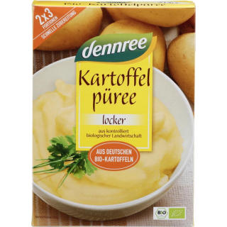 dennree Kartoffel-Püree, 160 gr Packung