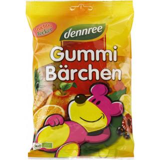 dennree Gummi-Bärchen, 400 gr Packung -mit bio Gel