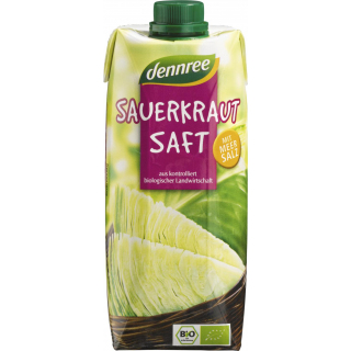 dennree Sauerkrautsaft, 0,5 ltr Stück