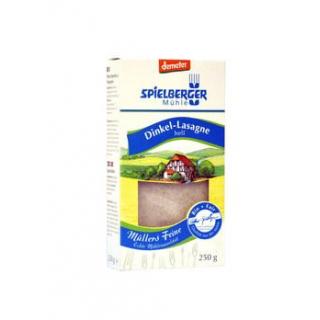 Spielberger Dinkel-Lasagne,  250 gr Packung -demet