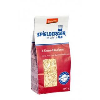 Spielberger 3-Kornflocken, 500 gr Packung