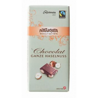 Chocolat Ganze Haselnuss, kbA, FAIRTRADE