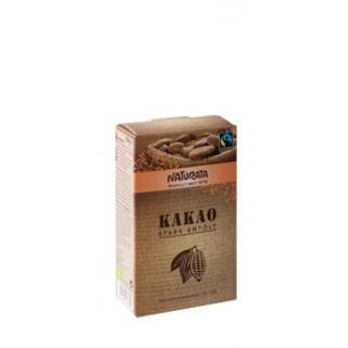 Naturata Kakaopulver, stark entölt,125 gr Packung