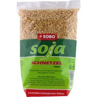 Sobo Soja-Schnetzel fein, 200 gr Packung