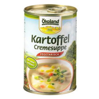 Ökoland Kartoffel-Creme Suppe -hefefrei-, 400 gr D