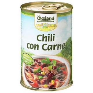 Ökoland Chili con Carne -hefefrei-, 400 gr Dose