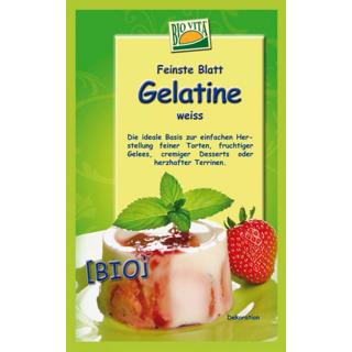 Bio Vita Bio - Blattgelatine, 10 gr Beutel, 6 Blat