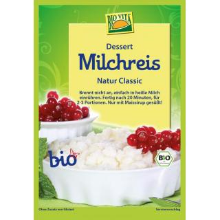 Bio Vita Milchreis Classic ohne Zucker, 115 gr Beu