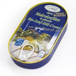 Fischzauber Zarte Makrelenfilets, in pikanter Senf