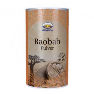 Govinda Baobab Fruchtpulver, 200 gr Dose