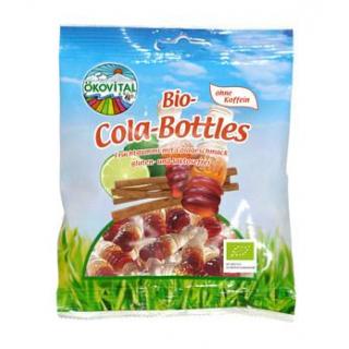 Ökovital Cola-Bottles, 100 gr Packung -mit bio Gel
