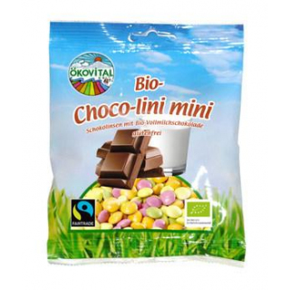Ökovital Bio-Choco-Lini-Minis Schokolinsen, 100 gr