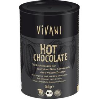 Vivani Hot Chocolate pur, geraspelte Schokolade, 2