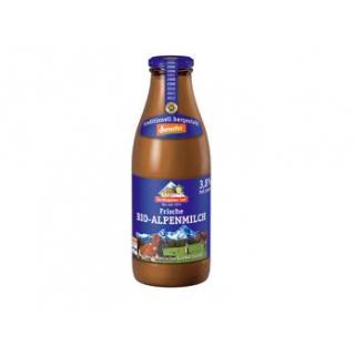Berchtesg Alpenmilch, 1 ltr Flasche  nicht homogen