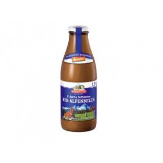 Berchtesg Alpenmilch fettarm, 1 ltr Flasche  nicht