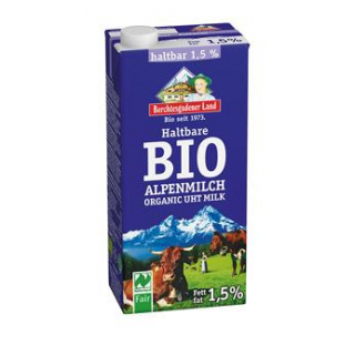 Berchtesg H-Alpenmilch, 1 ltr Packung