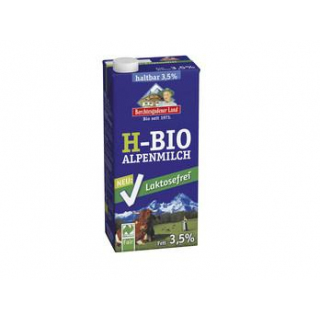 Berchtesg Lactosefreie Haltbare Alpenmilch, 1 ltr