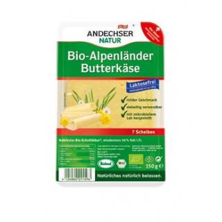 Andechser Natur Alpenländer Butterkäse natur, 150