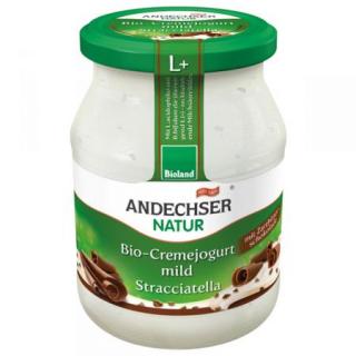 Andechser Natur Cremejogurt mild Stracciatella mit
