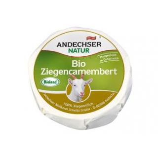 Andechser Natur Ziegencamembert, 100 gr Stück