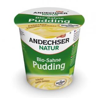 Andechser Natur Sahnepudding Vanille, 150 gr K3-Be