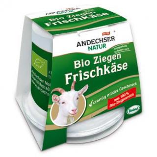 Andechser Natur Ziegenfrischkäse, 125 gr Becher
