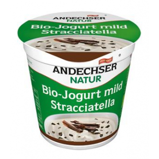 Andechser Natur Fruchtjogurt Stracciatella, 150 gr