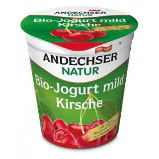 Andechser Natur Fruchtjogurt Kirsche, 150 gr Beche