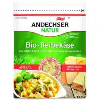 Andechser Natur Alpenreibekäse, 150 gr Packung