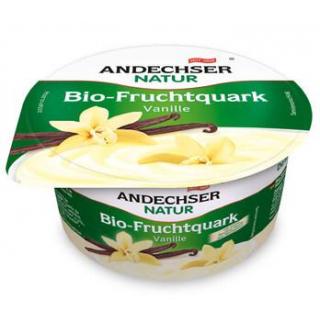 Andechser Natur Fruchtquark Vanille, 150 gr Becher