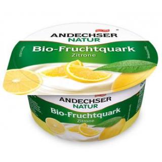 Andechser Natur Fruchtquark Zitrone, 150 gr Becher