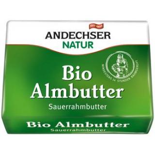 Andechser Natur Almbutter, 250 gr Stück (Sauerrahm