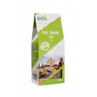 Biova Kala Namak fein, 200 gr Packung